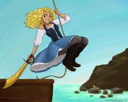 Annabeth the pirate princess by MissySerendipity