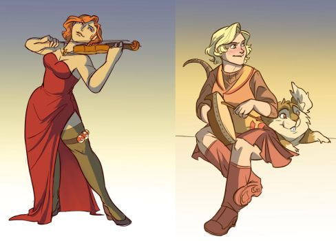 Instruments by wanlingnic