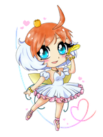 Chibi Princess Tutu by TropicalSnowflake