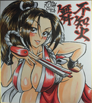 [THE KING OF FIGHTERS] Mai Shiranui by Gengoro-Akemori