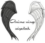 anime wings seiyastock by seiyastock