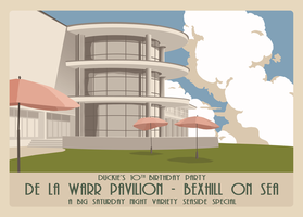 Duckie Bexhill-on-Sea Postcard by NotTheRedBaron