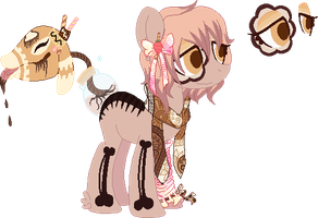 HNNNG CHOCLATE PONI ll Norphy by iiPoku