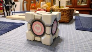 3 in. Weighted Companion Cube by pluckylump