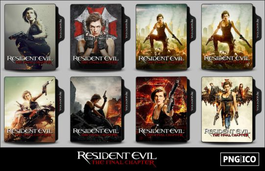 Resident Evil 6 (2017) Folder Icons by OnlyStyleMatters