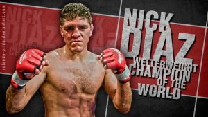 Nick Diaz by Rolando-Pride