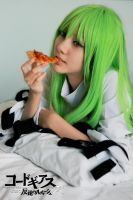 C.C. and Pizza by adrian-airya