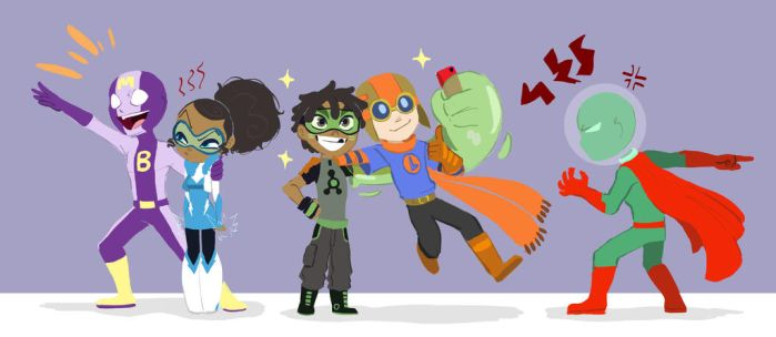 The Teen Tools and Super Twins! by ActionKiddy