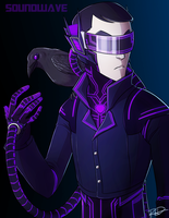 Humanized Soundwave by AnArtistCalledRed