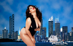 BABEWORLD#358: DENISE BIDOT: BIG APPLE BABE by CSuk-1T