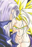 Futari no Trunks by QueenAkasha
