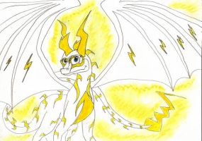 Icelectric in his light form by IcelectricSpyro