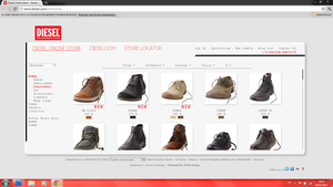 WebDesign - Diesel.com 2 by ROH2X