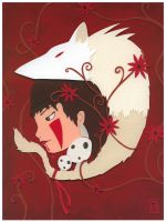Nerd Love: Princess Mononoke by renton1313