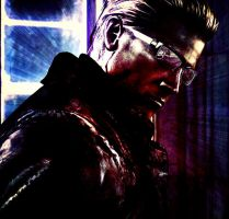 Wesker Glare by Raven-Shinda