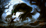 Werewolf Hallows - The Cat is the Real Boss by sohlol