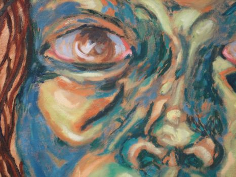 self-portrait detail by mikcals