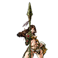Una from Witchblade by Chris Bachalo render by JayC79