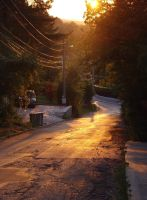 Electric Harp Street by TheSwanDive