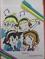 XYZ Group~Music Concert Time! by TheKalosQueenSerena