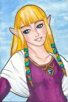 Skyward Sword - Zelda by Skogflickan