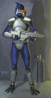Tasen Soldier by I2ebis