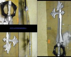 sleeping lion keyblade complete! by finaformsora