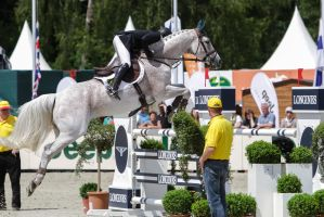 3DE Show Jumping Phase Stock 109 - Airborne Phase by LuDa-Stock