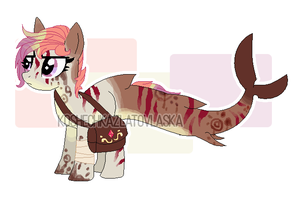 Shark pony adoptable auction [CLOSED] by koshechkazlatovlaska