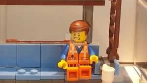 First Time In The LEGO Store! - EMMET by JIMENOPOLIX