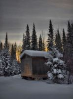 Winters Solitude by HeatherWaller-Rivet