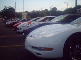 18-20something Corvettes form old to new by NationalMind