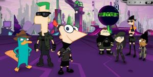 PnF Across The 2nd Dimension by phinabella4ever1