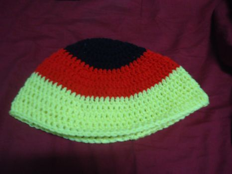 Germany inspired World Cup Beanie by Moyashi-chan