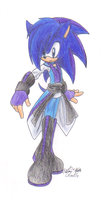 Allen the hedgehog by sonicartist16