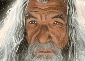 Gandalf sketch card by Azima-el