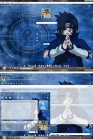 MSN 8.5 Naruto blue by AndyClaro