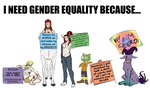 I need gender equality because... by ScissorsRunner