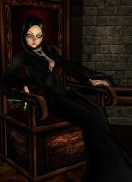 Morticia Addams 05 by Mary-Margret