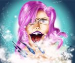Szayel A. Granzt_Mad about snow[PinkWinterContest] by heySnapDragon