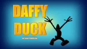 Daffy Duck thumbnail/title card by IDROIDMONKEY