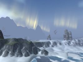 Wow Borean Tundra 1 Wallpaper by Swiftstone
