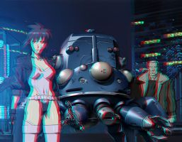 Ghost in the Shell 3=D conversion by MVRamsey