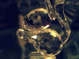 My glass acorn by Keome