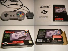 SNES Super Nintendo PAL Pad by krossbett