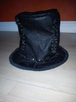 Steampunk Leather Hatt by Zarganath