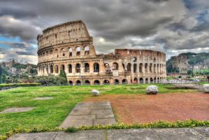 Colourful Colosseum by BabyJesus84