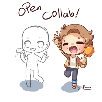 Open collab - Ice Cream by Frappuchii