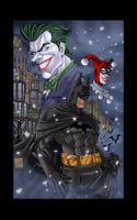 Winter in Gotham by ErikVonLehmann