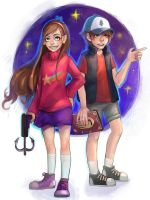 Gravity Falls by Zapekanka